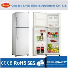251L double solid door upright refrigerator