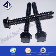 carbon steel hex flange head drywall screws full thread