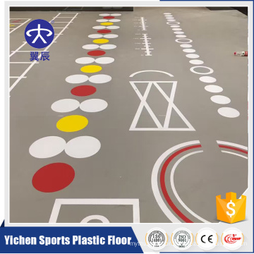 Multi-purpose Plastic Floor Gym Flooring Mat