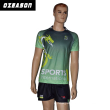 Ozeason Wholesale Cheap Sublimated Rugby Jersey