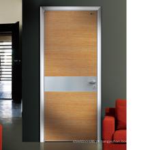Porta do PVC da porta do toalete do PVC de Hotsale com vidro