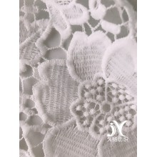 Floral Chemical Lace Fabric