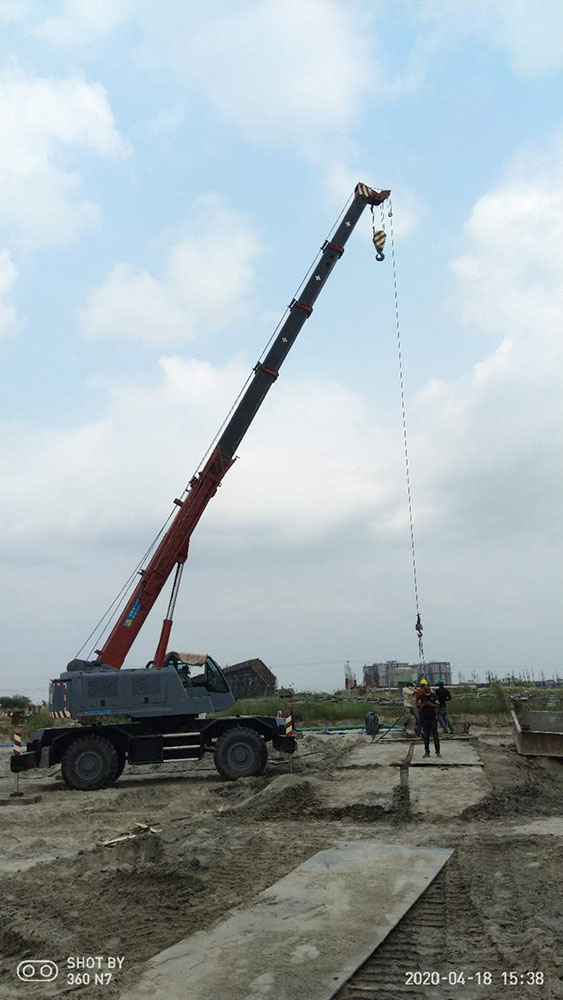 Telescopic Boom Truck Mounted Crane