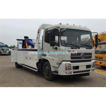 Dongfeng One pull two tow wrecker towing truck