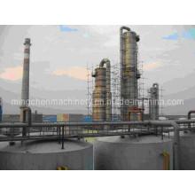Linha de Produção de Alta Concentração de Álcool / Etanol