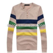 13STC5573 последние дизайн V-образным вырезом мужские свитера