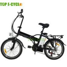 TOP / OEM 2016 heißer Verkauf 36V 250W neues faltendes elektrisches Fahrrad