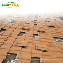 Système de montage solaire de panneau solaire en alliage d'aluminium système de montage solaire sur le système de montage solaire de toit guangzhou