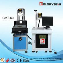 Máquina de marcação a laser com gerador de metal a laser CO2