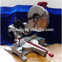 1900W / 15A 305mm Scie à onglet coulissante électrique en aluminium
