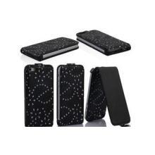 Flip Apple Iphone 5 Leather Cases Handmade Alligator Phone
