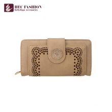 HEC Wholesale Custom Hand Purses PVC PU Leather Women Wallet