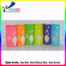 Offset Printing Colorfulr Paper Box with Clear Window