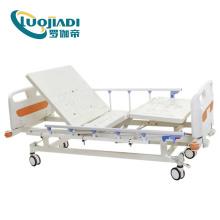 Manual elétrico 3 funções enfermagem cama de hospital