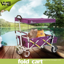 Collapsible Utility Outdoors Holiday Folding Luggage Carts with Wheels