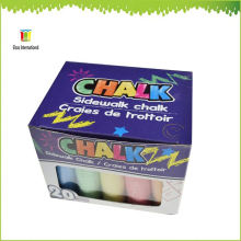 jumbo sidewalk big colored big sharped pointed chalk