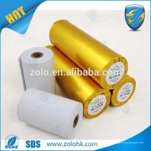 Atacado impresso personalizado caixa registradora etiqueta papel térmico 80x80, rolos de papel térmico 80x80
