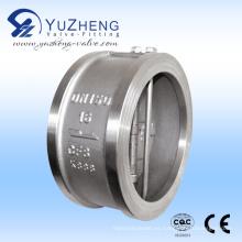 Fabricante de la válvula de retención de la placa doble del acero inoxidable de la oblea