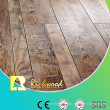 Commercial 12.3mm E1 Mirror Beech Waxed Edged Laminate Floor