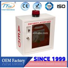 boîte en métal pour le défibrillateur
