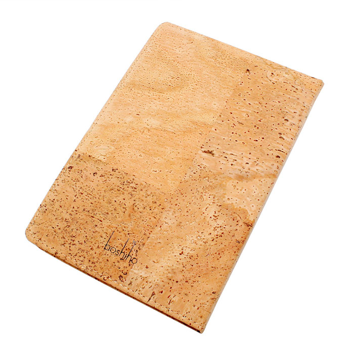 Fashion Silk Screen Custom Print Cork Cover Notebook