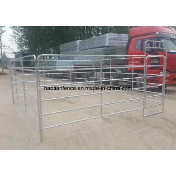 Panel de acero galvanizado para caballos