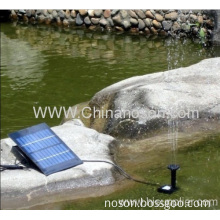 188*127*52mm Fountain Without Shaft Brushless Motor Solar Water Pump For Pool Use