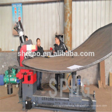 flange roll forming machine/dish end press machine/Tank dish end flanging Machine