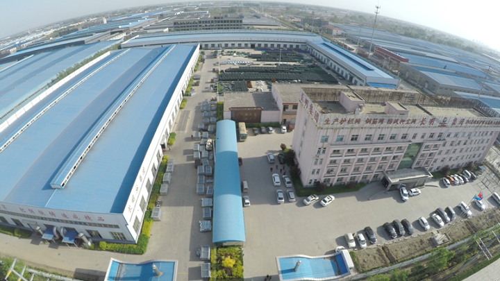 Airview of factory