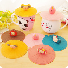 All Kinds of Animal Shapes Tea Cup Silicone Lid