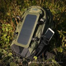 6.5W Outdoor Solar Cell Phone Tablet cobrando grande capacidade Travel Backpack Pacote de caminhadas Pacote de carga do painel solar (SB-168)