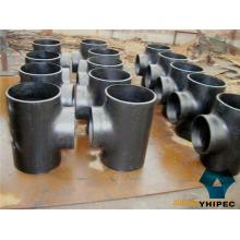 Tee de accesorios de tuberías a tope de la placa de acero de aleación