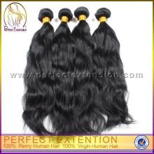 2015 новые продукты для женщин 6а Virgin Перуанский человеческих волос расширение