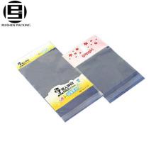 Bopp matériels personnalisés imprimés sacs en plastique auto-adhésifs