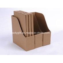 Quality Brown Kraft Paper File Folder and File Holder Boxes