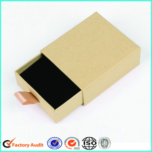 Kraft Earring Boxes With Packaging Insert
