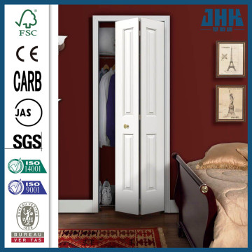 JHK HDF White Interior Temporary Folding Doors