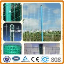 Hot Galvanized PVC coated euro fence/Welded Dutch Fence