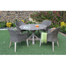 Hot Selling New Season Dining Sets PE Poly Rattan WickerOutdoor Garden Furniture