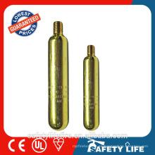 cartuchos de gas desechables / cartucho vacío co2 / cartucho de co2 8g
