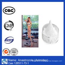 Заводская цена Фармацевтическая сырая стероиды Порошок Ana Strozole Arimidex