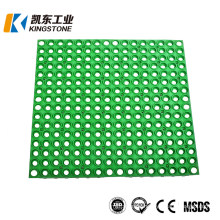 Anti Non Slip Skid Perforated Outdoor Using Rubber Deck/Boat Floor Sheet Mat/Matting with Holes