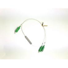 PLC1 * 2 mini divisor de acero sc apc upc conector