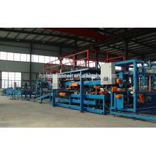 Prateleira de aço galvanizado automático completo em poliuretano PU EPS Sandwich Cake Panel Linha de máquinas de produção para venda