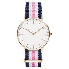 Canvas riem danielWellington heren dameshorloge