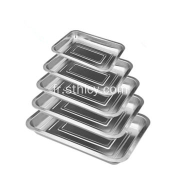Acier inoxydable Hotel Products Deep Food Tray