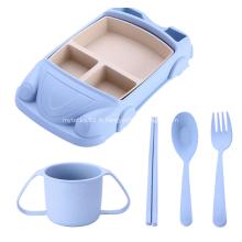 Forme mignonne de vaisselle incassable d'enfants