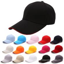 China Custom todo o chapéu disponível do algodão da cor na venda