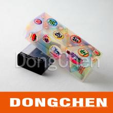 Retangle Clear Printable Plastic Cosmetic/Perfume Packaging Box