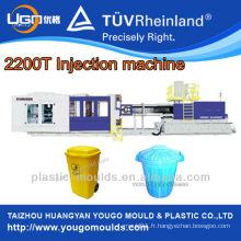 Machine de fabrication de palettes en plastique / Machine de moulage par injection plastique 2200T